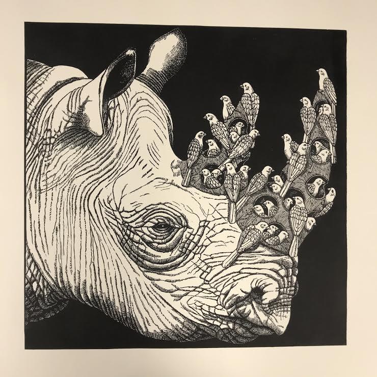 Black Rhino and Friends